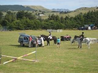 Fine Weather for the 110th Annual Pongaroa Horse Sports